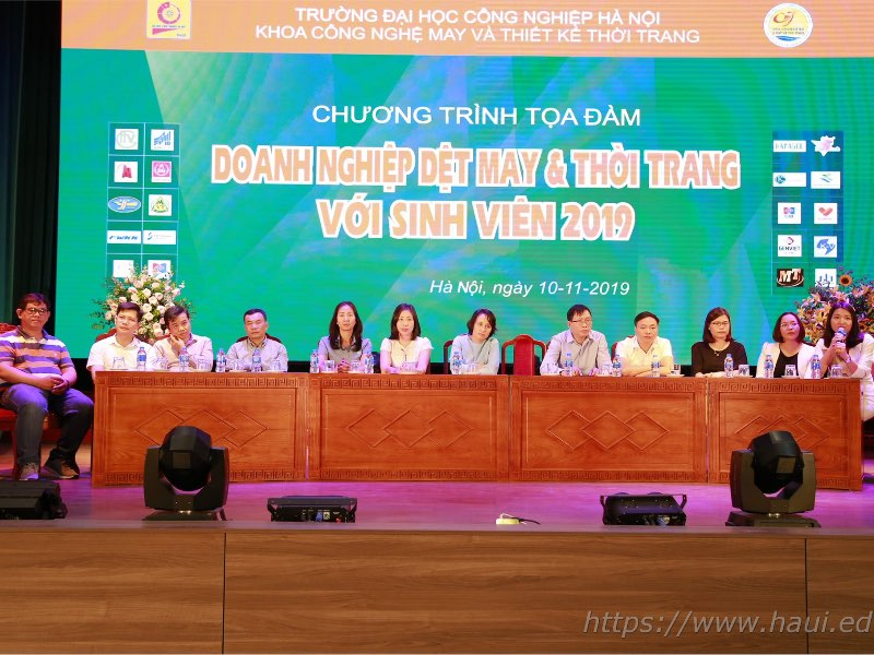 Tọa đàm Doanh nghiệp Dệt, May và Thời trang với sinh viên 2019 - kênh VTV2, Đài truyền hình Việt Nam