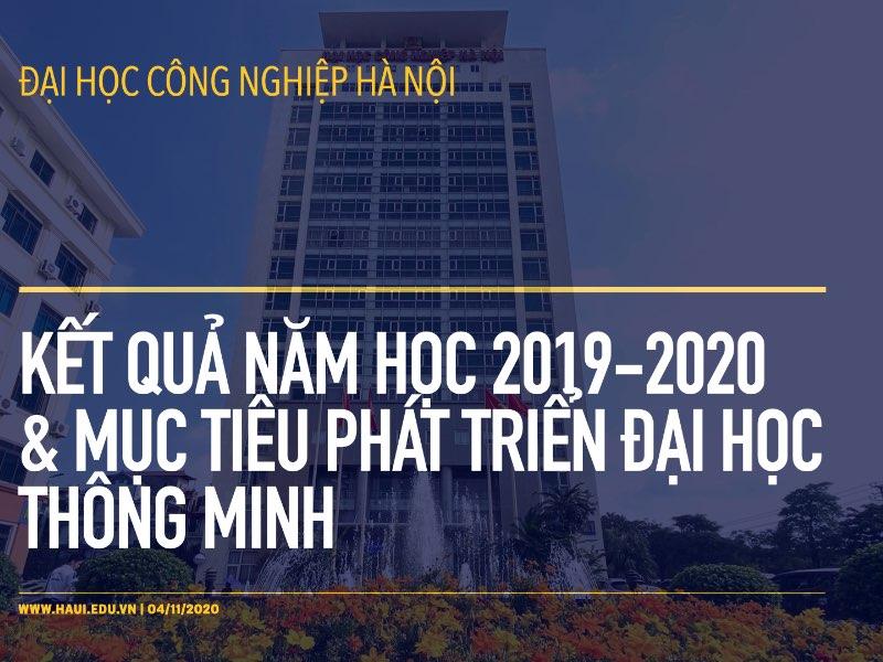 Kết quả năm học 2019 - 2020 và mục tiêu phát triển đại học thông minh
