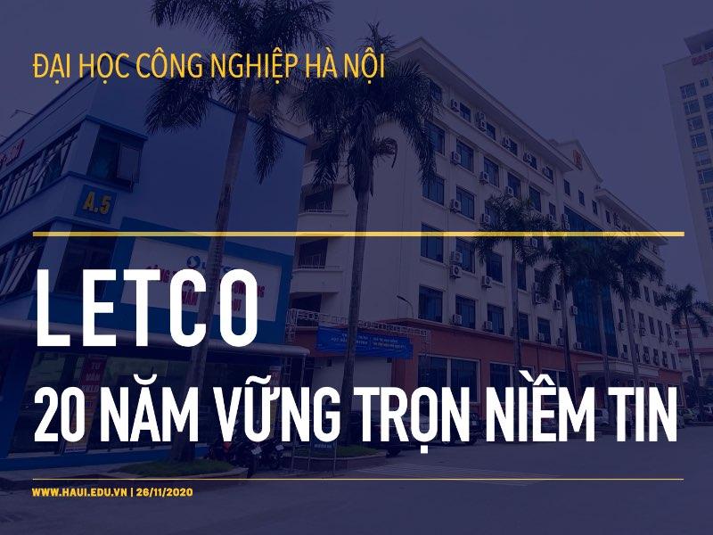 LETCO - 20 năm vững trọn niềm tin