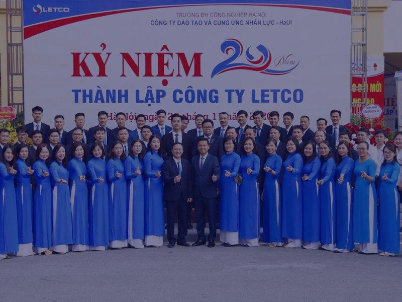 Lễ kỷ niệm 20 năm thành lập công ty Đào tạo và cung ứng nhân lực - HaUI (LETCO)